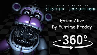 Download 360°| Eaten Alive by Funtime Freddy - FNAF Sister Location [SFM] (VR Compatible) Video