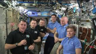 Download Expedition 50 Crew Hands Over the Space Station to Expedition 51 Video