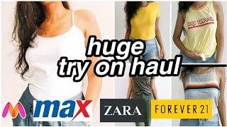 Download Huge Try-on Haul Ft. Zara,F21,Myntra,Max | Harshala Patil Video