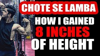 Download HEIGHT INCREASE - Kaise hua 8 inches lamba in just two years   Only on Tarun Gill Talks Video
