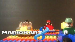 Download Lego Mario Kart 8 - Rainbow Road Video
