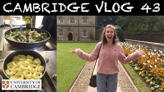 Download CAMBRIDGE VLOG 43: the countdown to exams begins and cooking skills are put to the test! Video
