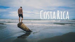 Download Exploring BLACK SAND BEACH in Costa Rica Video
