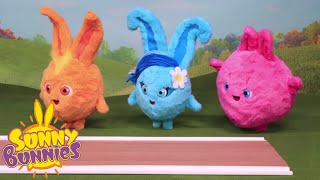 Download BRAND NEW - SUNNY BUNNIES Toyplay Stop Motion episode featuring Bunny Blabbers & Cannon Playset toys Video