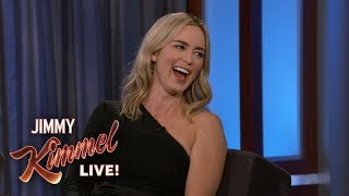 Download Emily Blunt on Mary Poppins & Embarrassing Mom Video