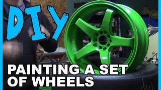 Download How to Spray Paint Wheels with Professional Results! Video