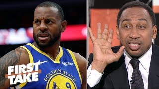 Download 'Somebody's lying!' – Stephen A. reacts to Iguodala's Warriors comments | First Take Video
