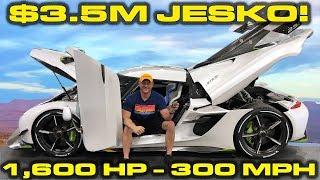 Download INSIDE LOOK * $3.5M - 1,600HP - 300 MPH Koenigsegg Jesko! Video