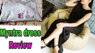 Download Myntra dress review/Black party dress quality review Video