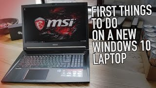 Download First Things to Do With a New Windows 10 Laptop | Kill Bloatware, Lock it Down, Make it Epic Video
