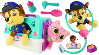 Download Doc McStuffins pet carrier and Chase Video