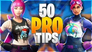 Download 50 PRO TIPS TO BECOME A GOD IN FORTNITE! New Advanced Tips/Ultimate Guide (Fortnite Battle Royale) Video