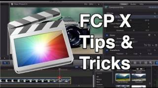 Download Final Cut Pro X Tips and Tricks Video