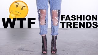 Download WEIRD AF Fashion Trends LOOKBOOK   HIT OR MISS?! Video
