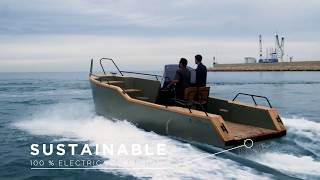 Download X SHORE EELECTRIC 8000 - electric boat Video