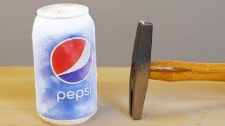 Download LIQUID NITROGREN vs PEPSI SMASHED Video