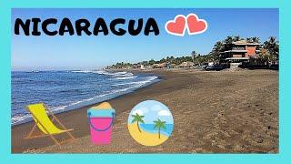 Download NICARAGUA, the most spectacular BEACH of Las Peñitas on the PACIFIC OCEAN Video
