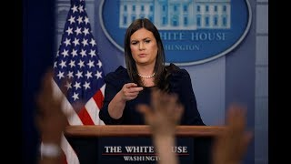 Download WATCH: Sarah Sanders holds White House news briefing Video