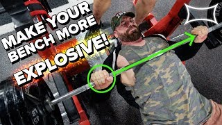 Download Coaching Bradley Martyn Through a More Explosive Bench Press Video