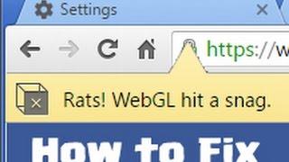 Download Rats! WebGL Hit a Snag - Fix for Chrome Browser Video