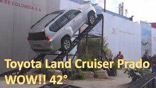 Download Test Drive Toyota Land Cruiser Prado Climbing 42 degrees. Video