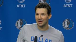 Download Romo on being in uniform for the Mavs Video