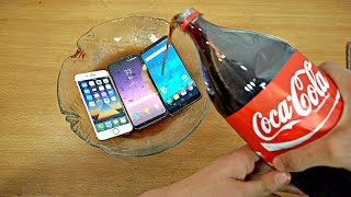Download Samsung Galaxy S8 vs iPhone 7 vs LG G6 Coca-Cola Test! Coca-Cola Proof? Video