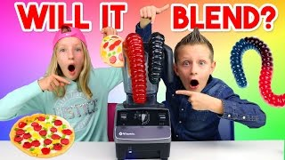 Download Giant Gummy Worm - Will it blend? Video
