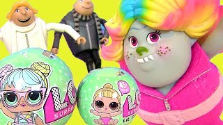 Download #LOL Baby Dolls Series 2 Видео для Детей Trolls Гадкий Я 3 Kinder Игрушки ЛОЛ #Мультик #Пупсик Video