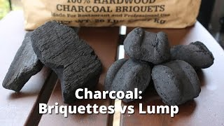 Download Charcoal: Briquette vs Lump - Choosing the Right Charcoal for Grilling and Smoking Video
