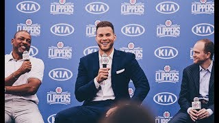 Download Press Conference: LA Clippers Welcome Back Blake Griffin Video