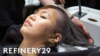Download I Dyed My Lilac Hair Pastel Blue   Beauty With Mi   Refinery29 Video
