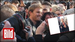 Download Formel 1 Weltmeister: Nico Rosberg in Deutschland (Interview mit Mutter) Video