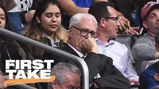 Download Max Calls Knicks' Phil Jackson 'Hot Garbage'   First Take   June 22, 2017 Video