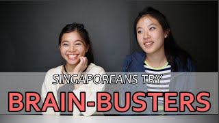 Download Singaporeans Try: Brain-Busters | EP 3 Video