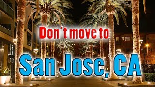 Download Top 10 reasons NOT to move to San Jose, California. You need good car insurance. Video