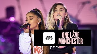 Download Miley Cyrus and Ariana Grande - Don't Dream It's Over (One Love Manchester) Video