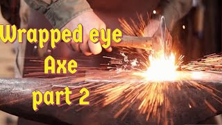 Download Wrapped eye axe part 2 - forge welding Video