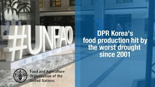 Download DPR Korea's food production hit by the worst drought since 2001. Video