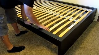 Download IKEA Malm high bed assembly - DETAILED! Video