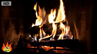 Download Classic Yule Log Fireplace with Crackling Fire Sounds (HD) Video
