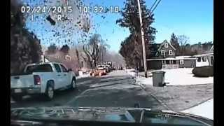Download Police dash-cam video of Stafford Township, NJ house explosion Video