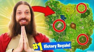 Download *JESUS* HELPS ME WIN Fortnite Battle Royale Video