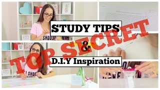 Download TOP SECRET STUDY TIPS to get a competitive edge and make you an A+ student! Video