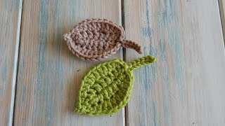 Download How to Crochet a Leaf - Version 2 Video