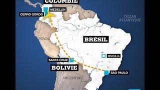 Download 76 morts, 5 rescapés dans le crash d'un avion en Colombie - L'équipe de foot de Chapecoense décimée Video