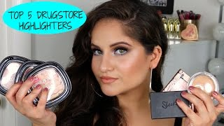 Download TOP 5 DRUGSTORE HIGHLIGHTERS || ALL SKIN TONES Video