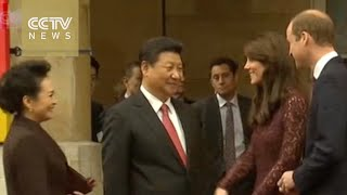 Download President Xi meets British PM, visits Imperial College London Video