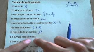 Download Lenguaje algebraico Video