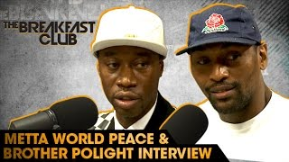 Download Metta World Peace and Brother Polight Interview With The Breakfast Club (8-3-16) Video